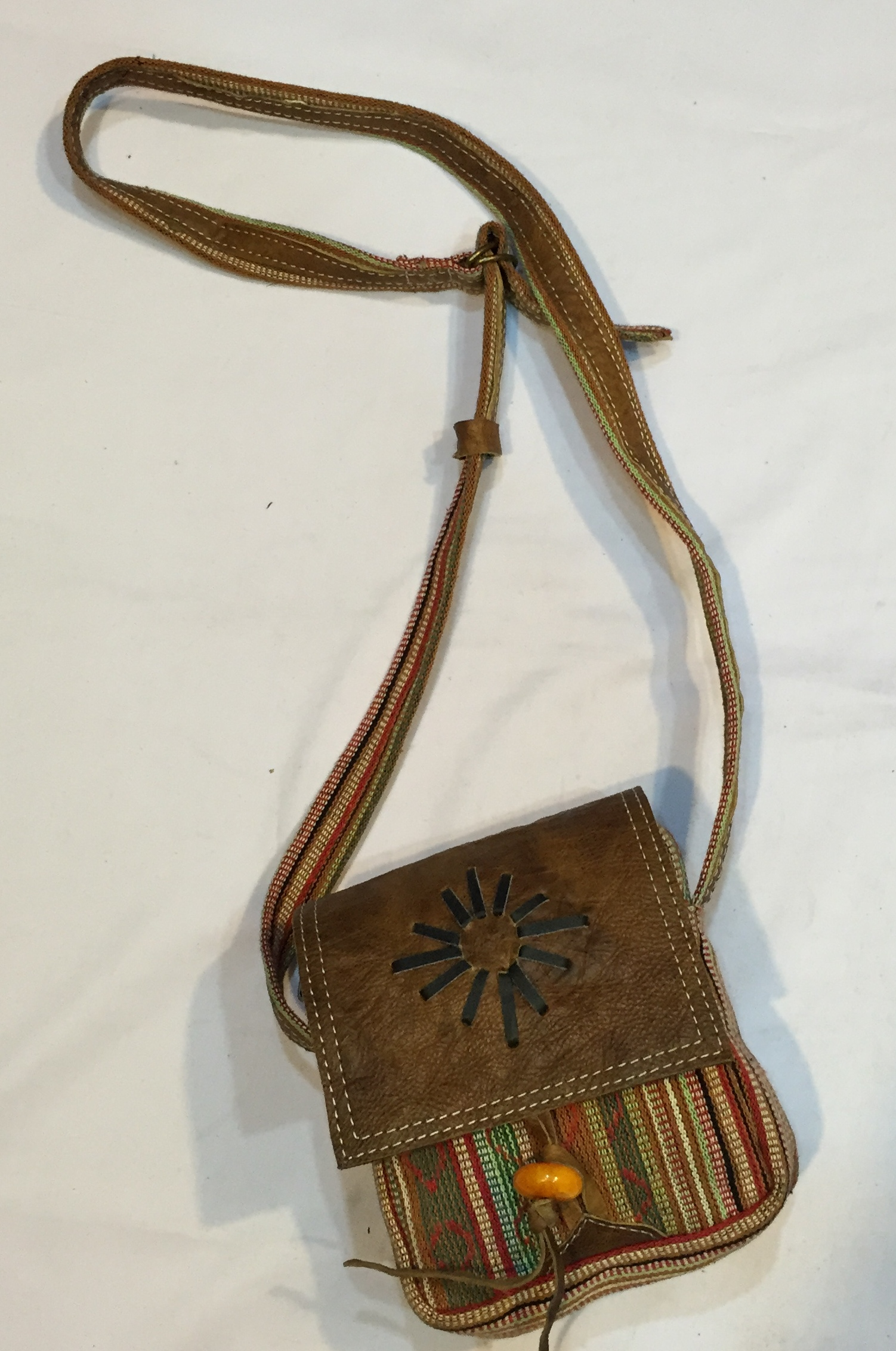 Handmade bag Made in Nepal  BFH-539