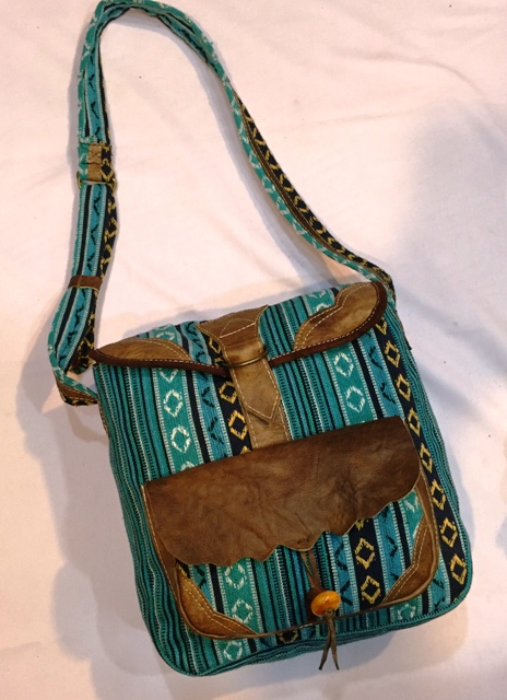 Handmade bag Made in Nepal  BFH-543